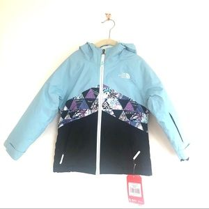 North Face Nimbus Blue Insulated Brianna Jacket
